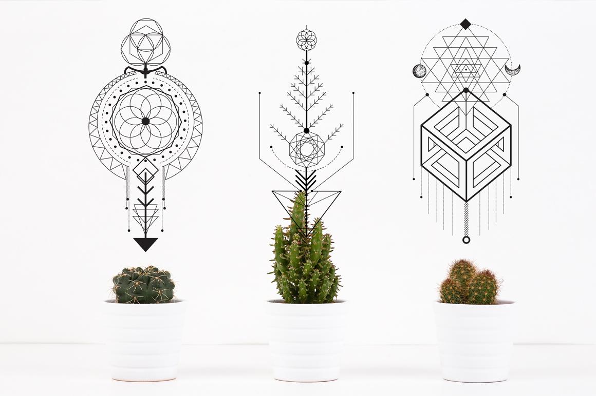 Sacred Geometry. Magic totem vol.2 example image 10