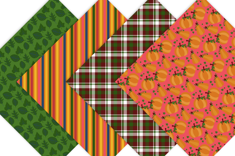 Pumpkin Digital Paper example image 5