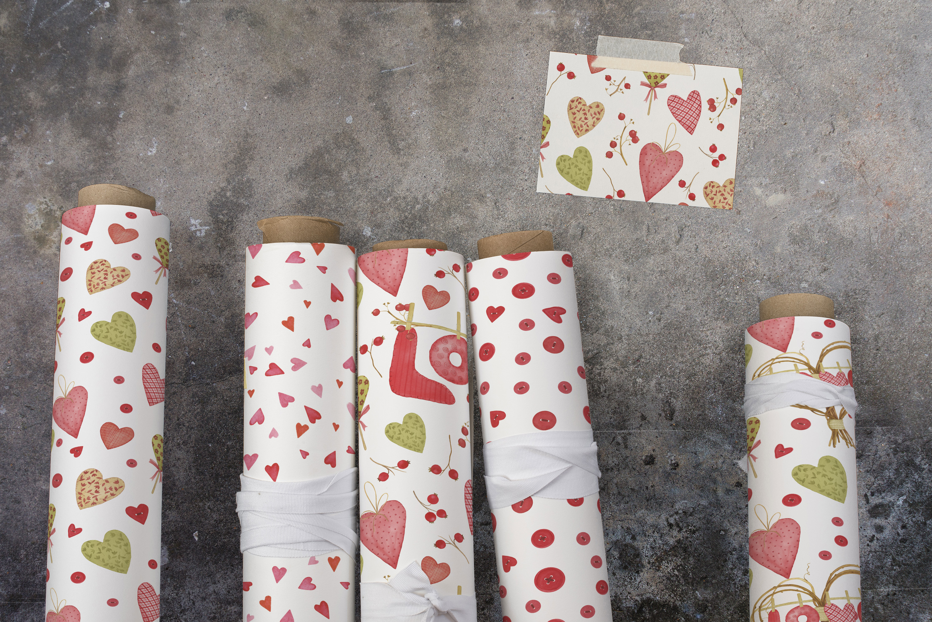 Valentine's Day Patterns example image 3