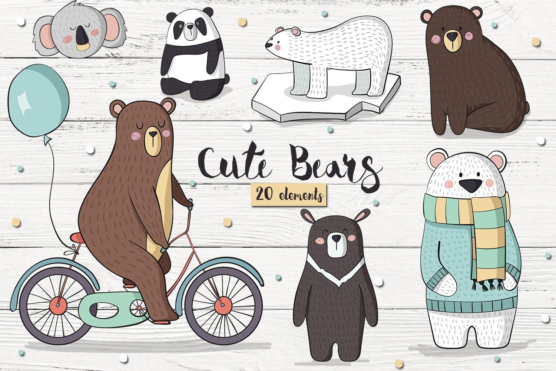 Cute Bears example image 1