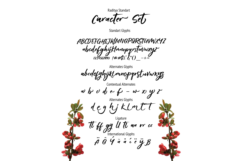 RADITYA Hand lettering example image 8