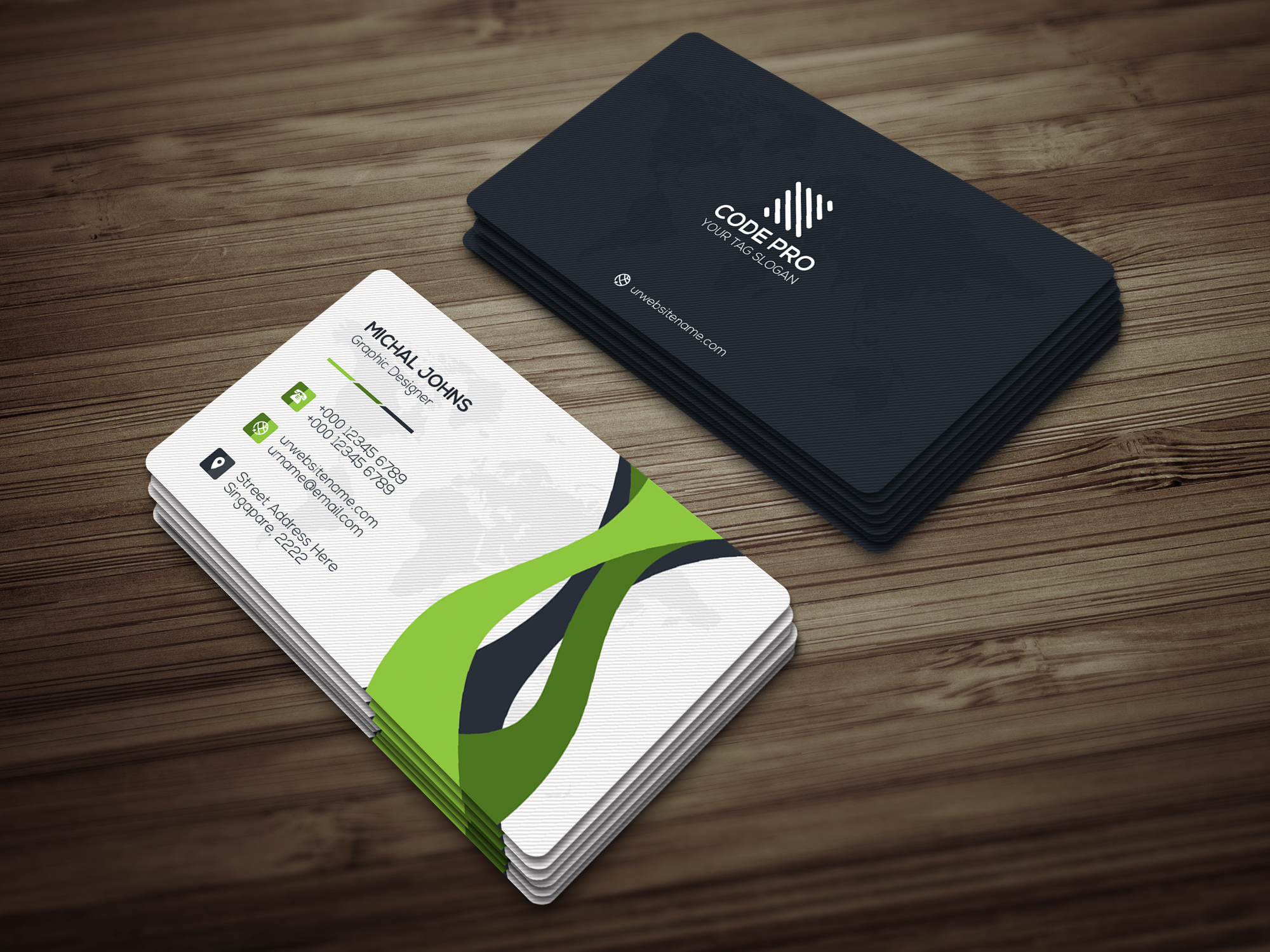 Corporate Business Card example image 4