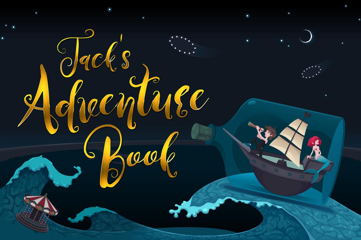 Jack's adventure book example image 1