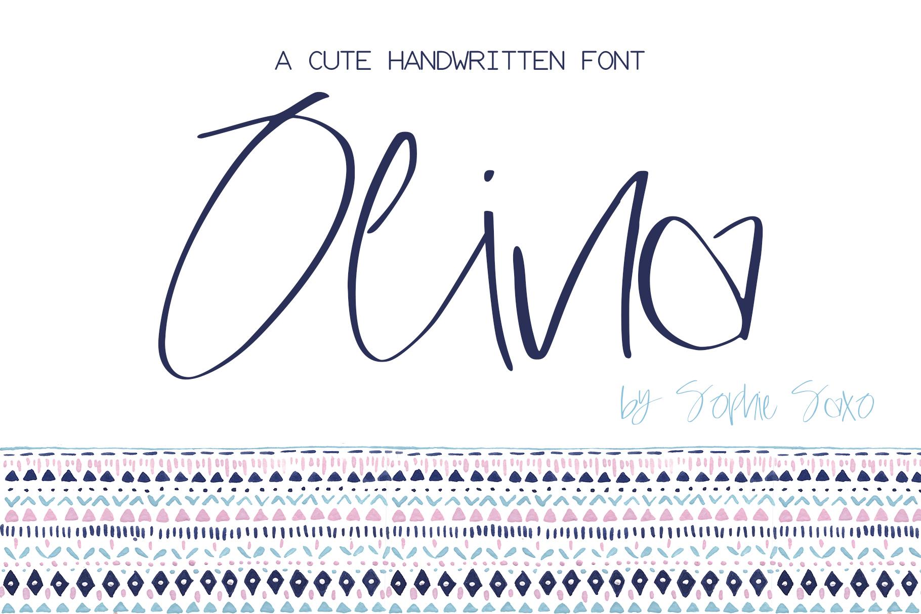 Olina Font example image 1
