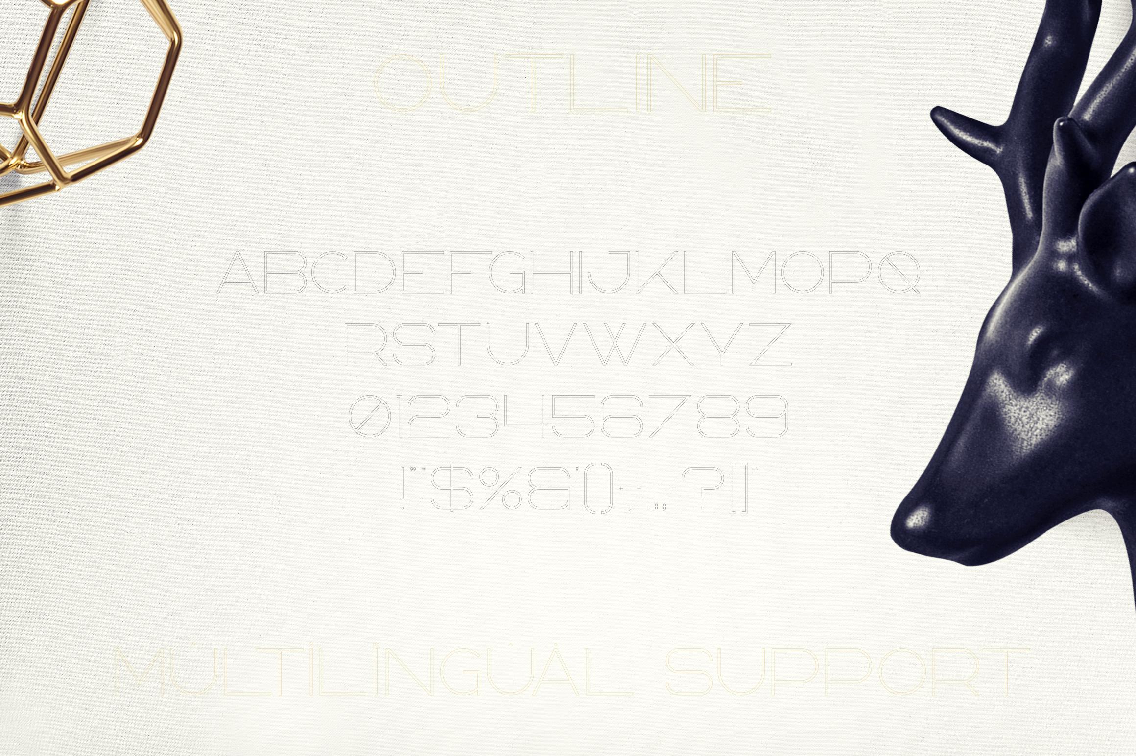 Bosnia - Sans Serif font   2 styles example image 9