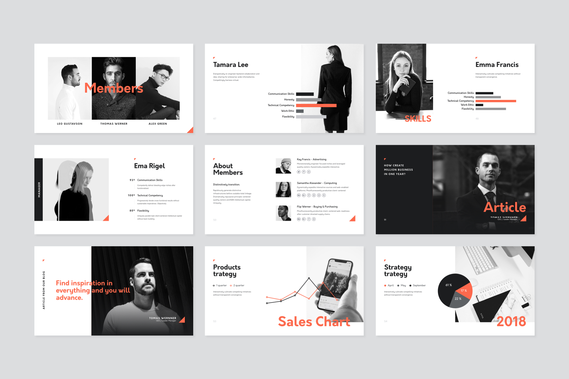 Corp Keynote Presentation Template example image 7