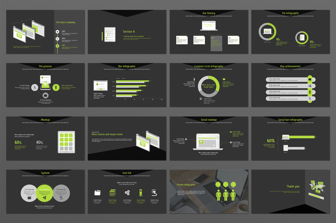 Web Design PowerPoint Template example image 2