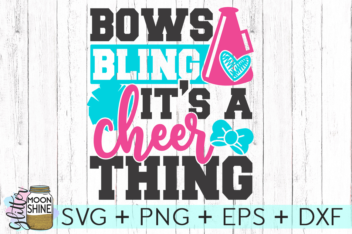 Cheer Thing SVG DXF PNG EPS Cutting Files example image 2