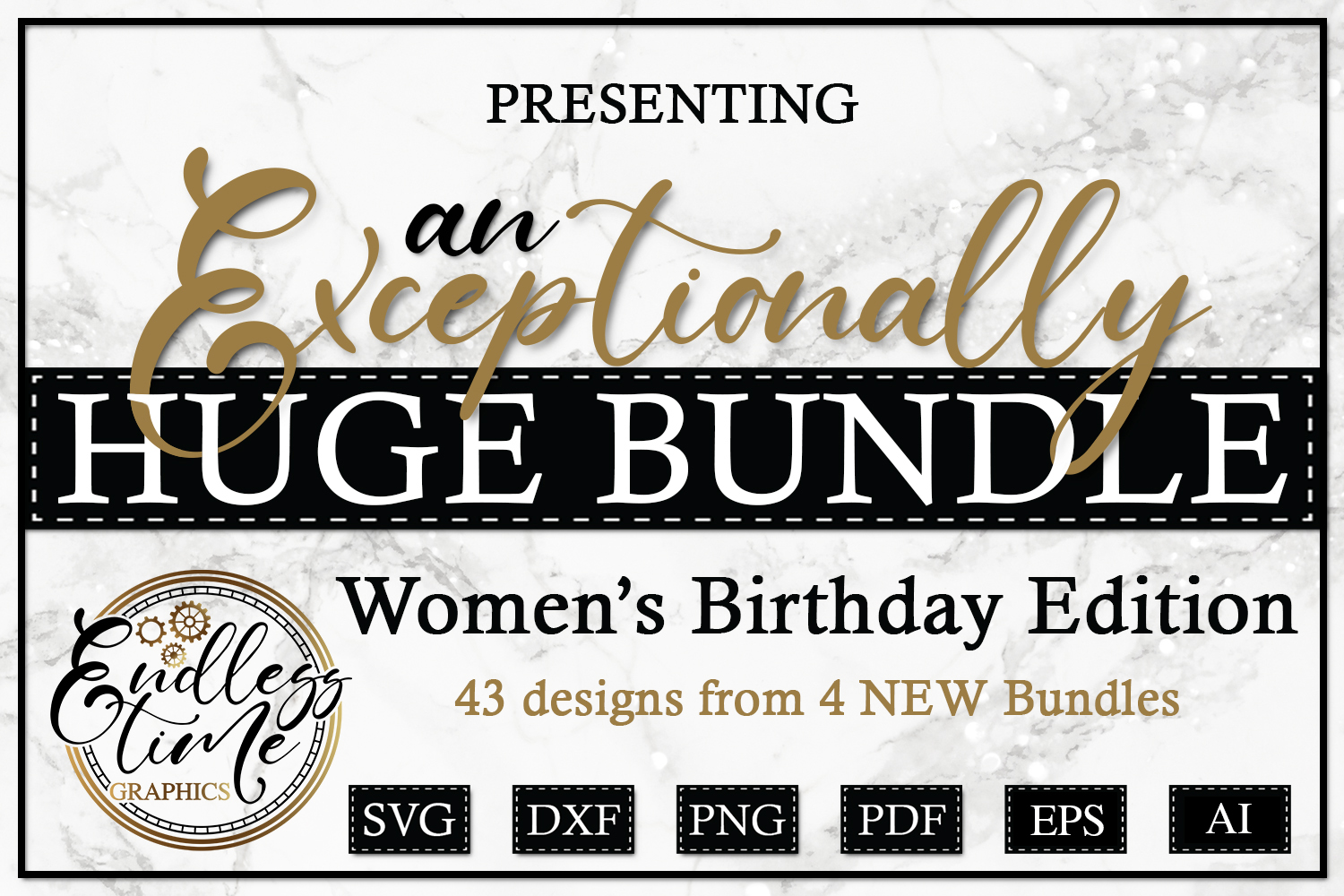 An Exceptionally Huge Bundle - Women's Birthday Edition example image 1