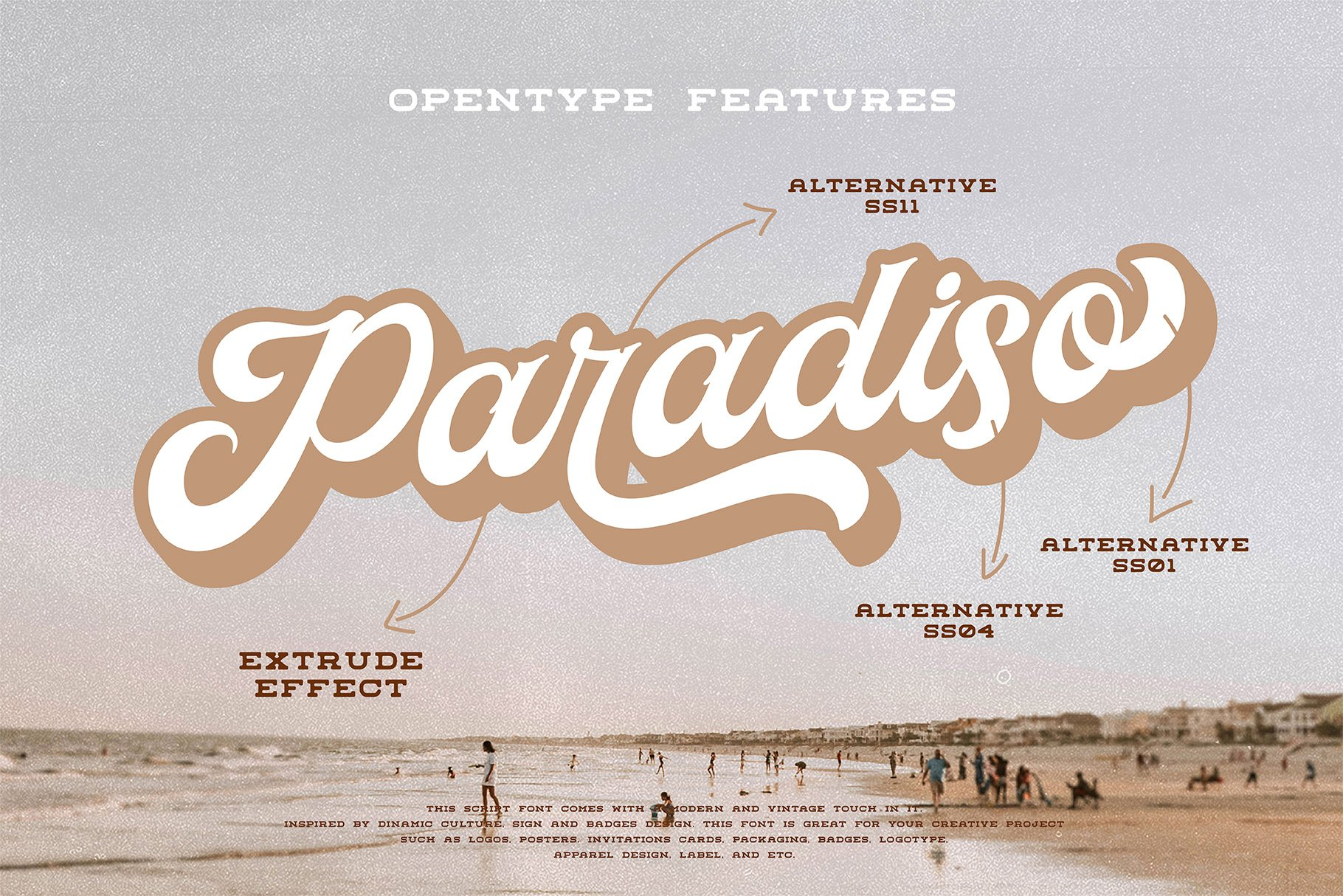 Paradiso Script example image 4