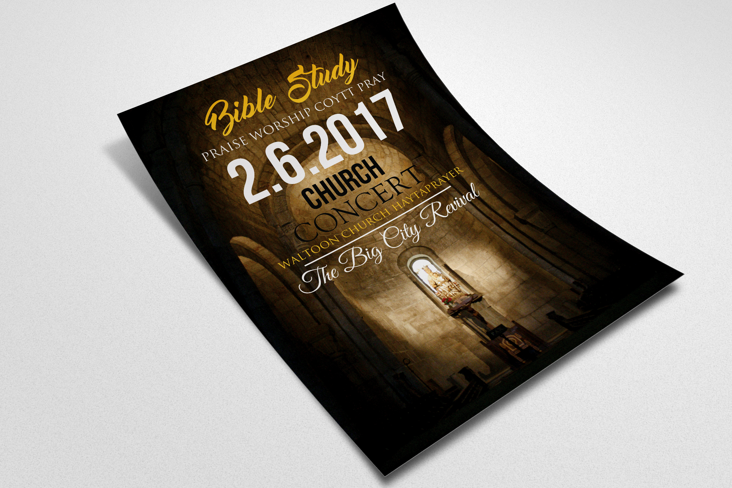 Holy Church Flyer Templates example image 2