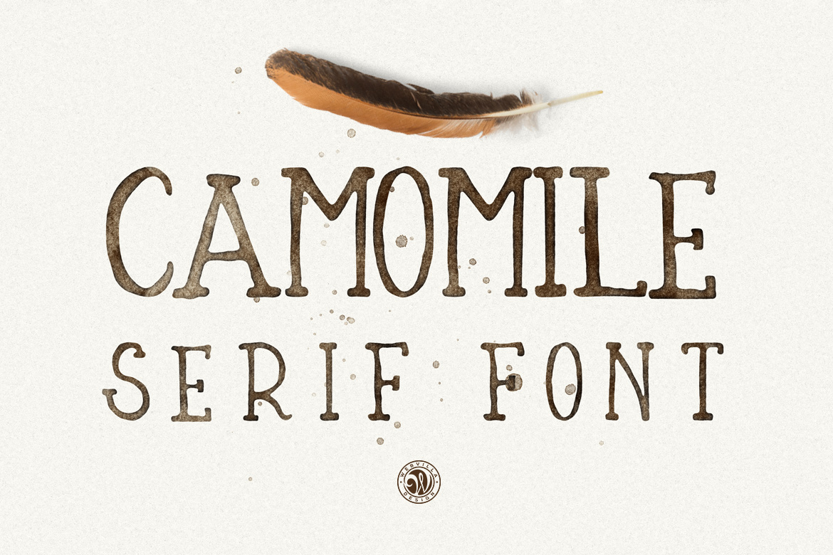 Camomile Font example image 2