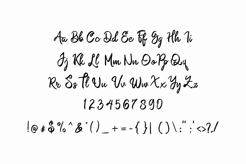 Namasia | Natural Script example image 7