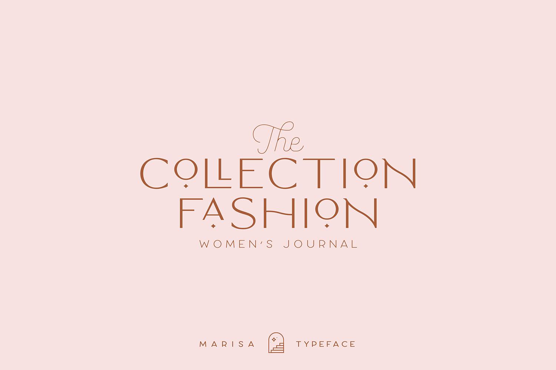 Classy Marisa - Elegant Fashion Stylish Typeface example image 11
