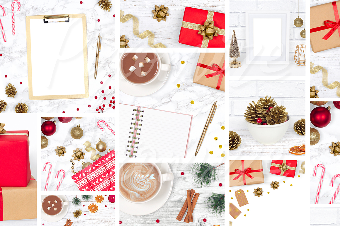 Christmas Styled Stock Photography Bundle example image 3
