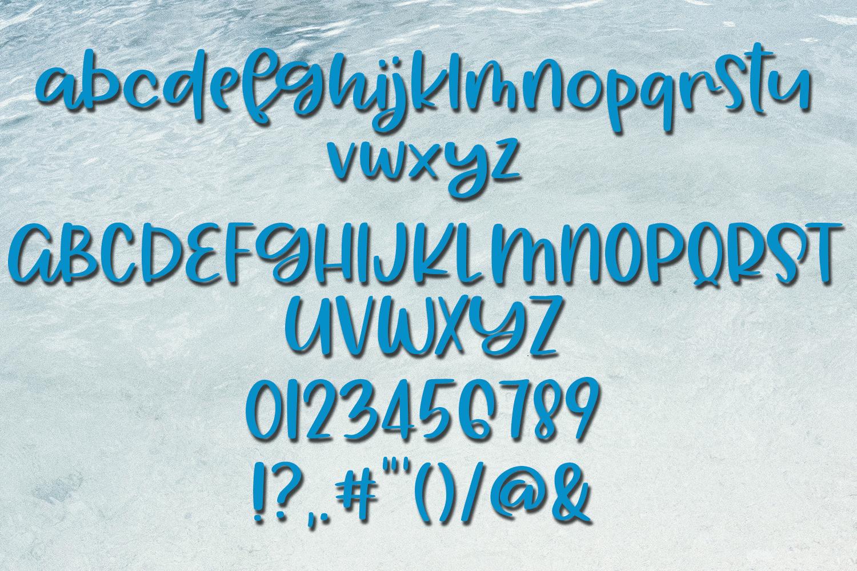 Aloha Summer - A Summery Hand-Written Font example image 5