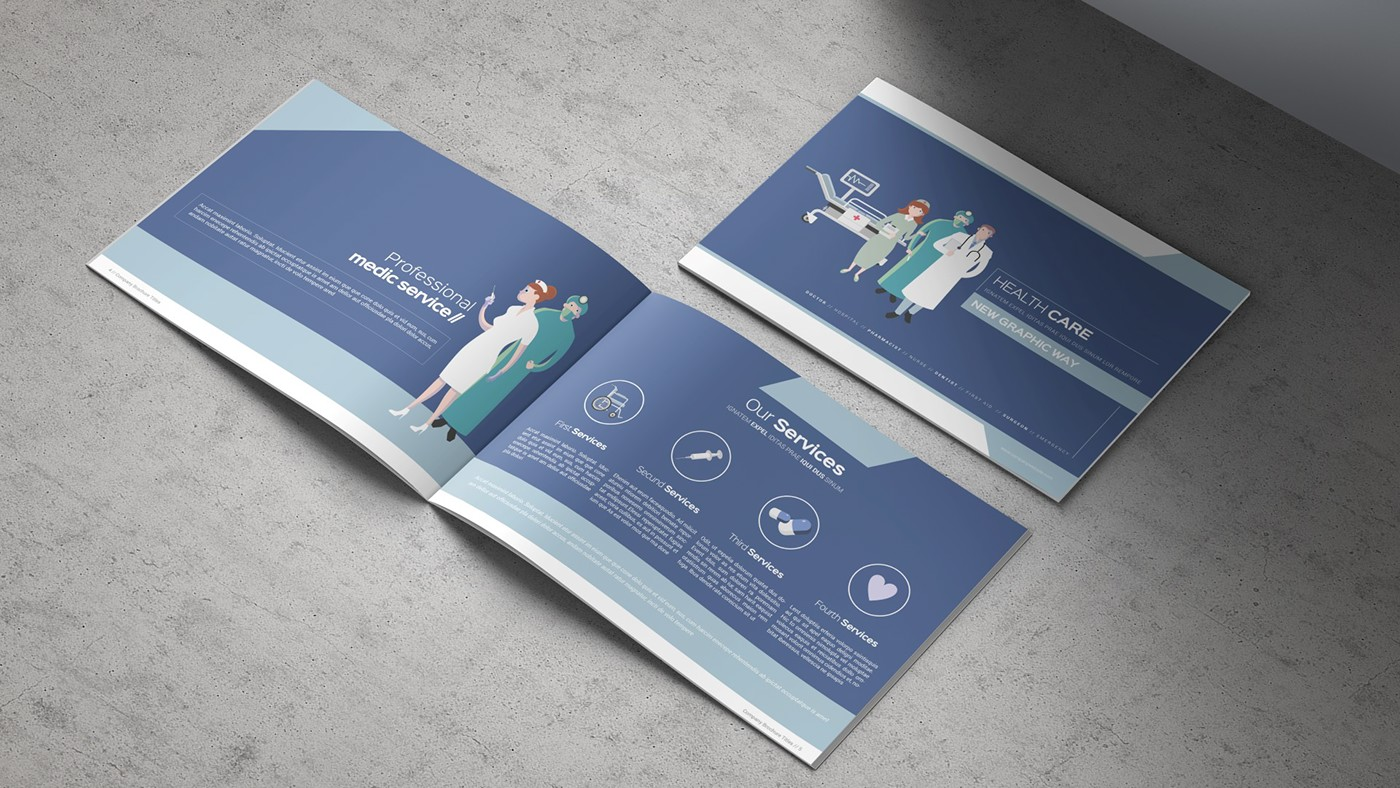 Health & Care Brochure Template example image 2