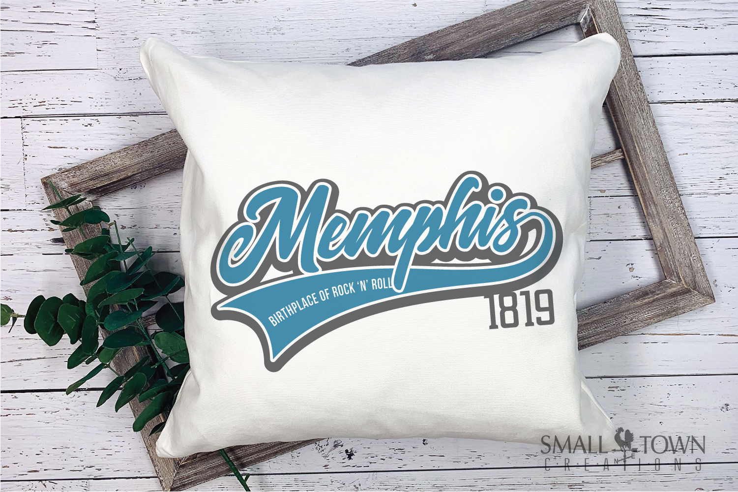 Memphis, Birthplace of Rock & Roll, Tennessee, PRINT, & CUT example image 5