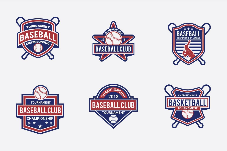 173 Sports Badges and Logo Bundle example image 8