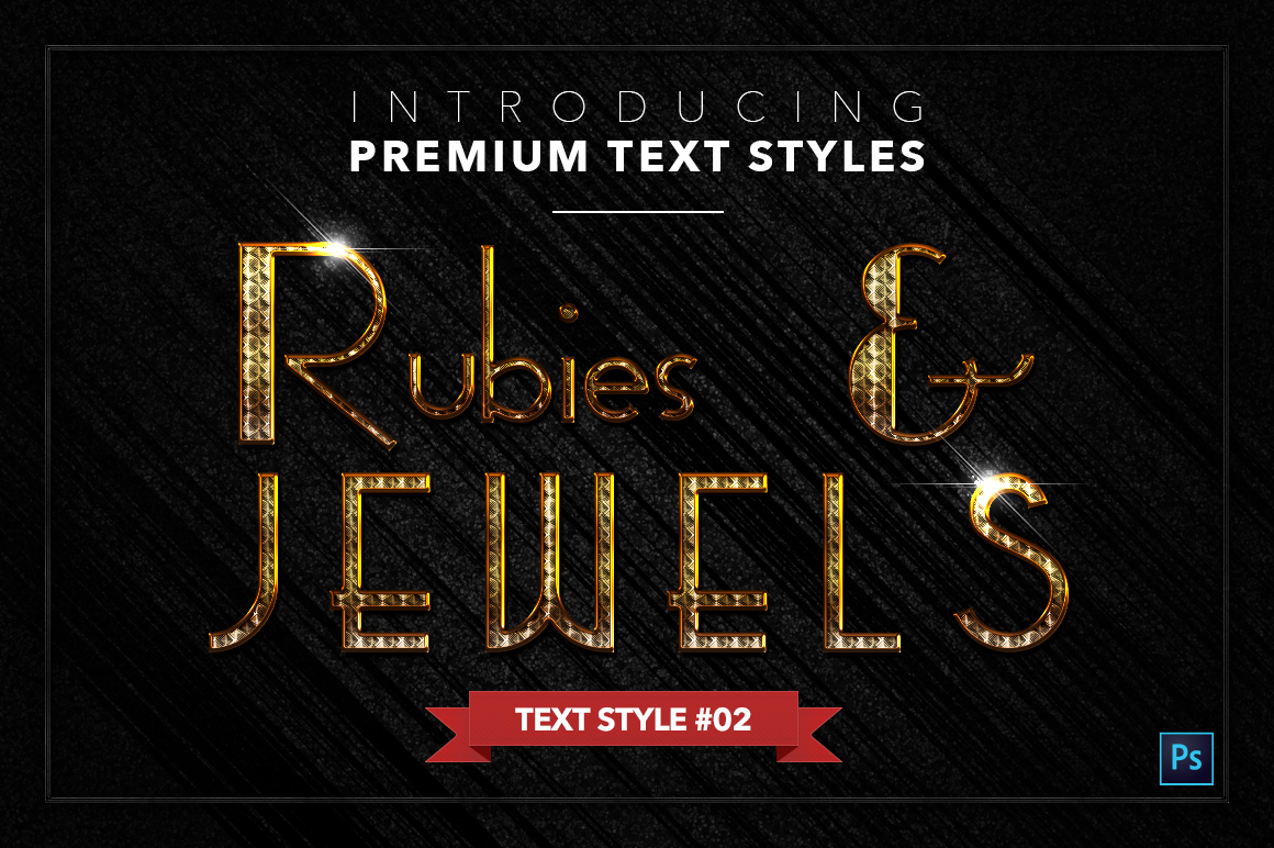 Rubies & Jewels #1 - 20 Text Styles example image 3