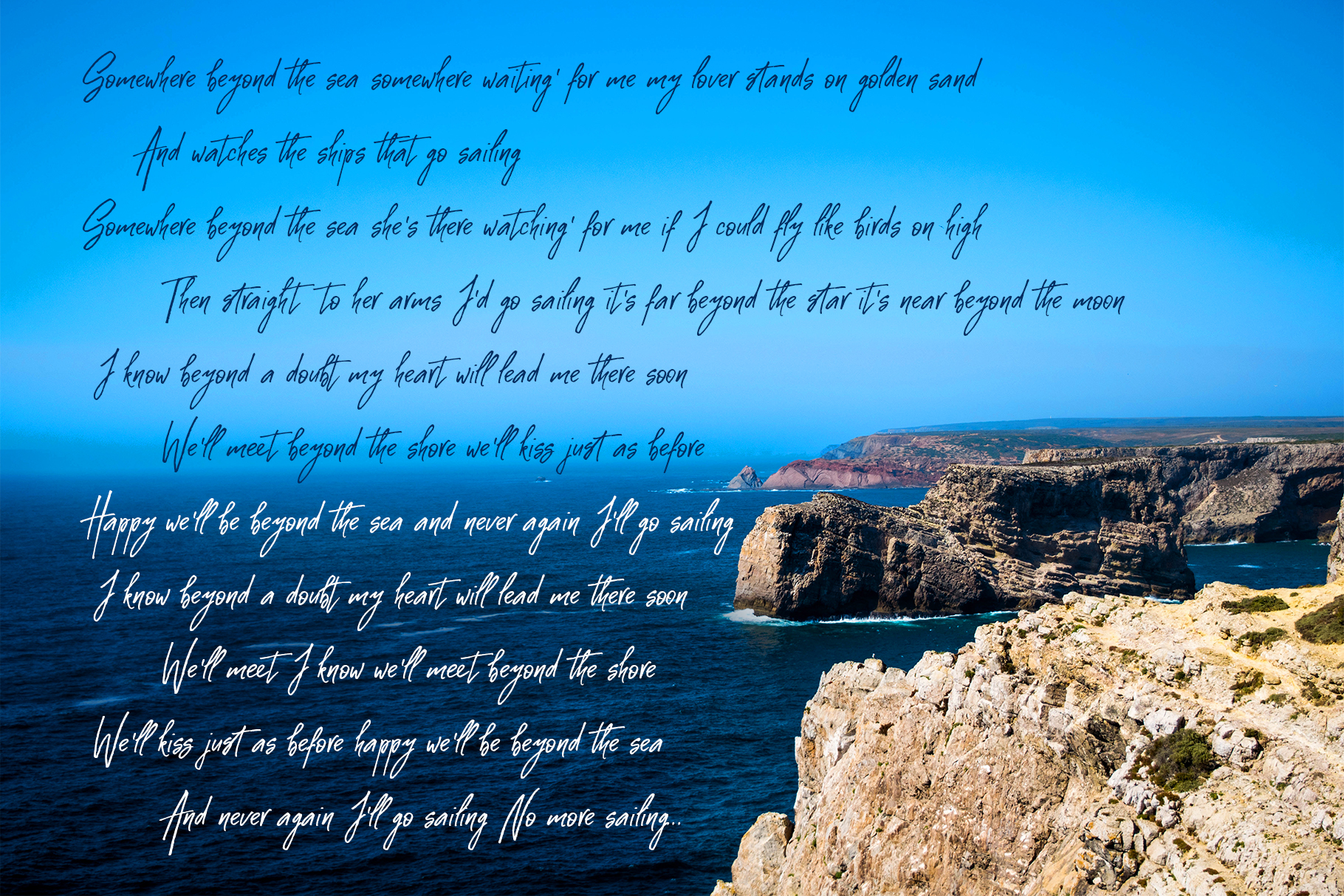 Costa Blanca script font + Extras example image 10