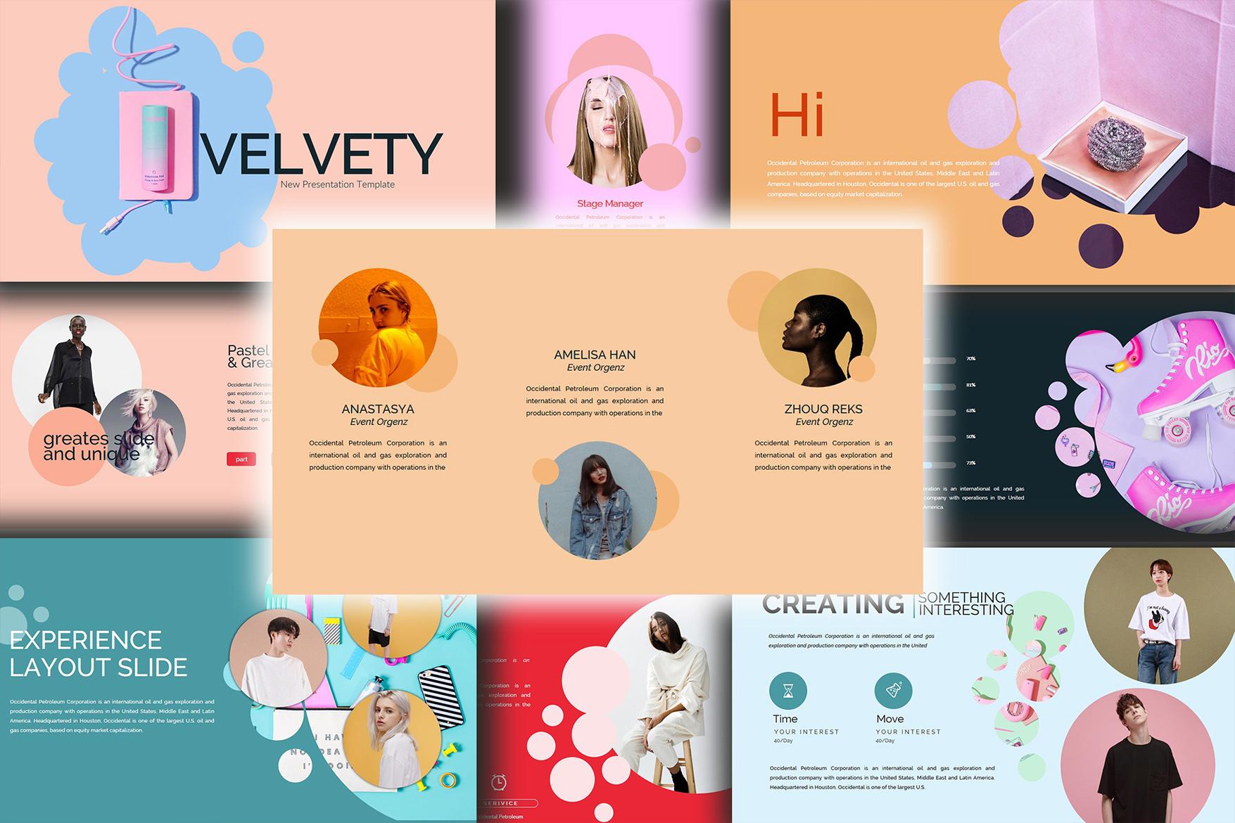 Velvety Fashion Google Slides Presentation example image 7