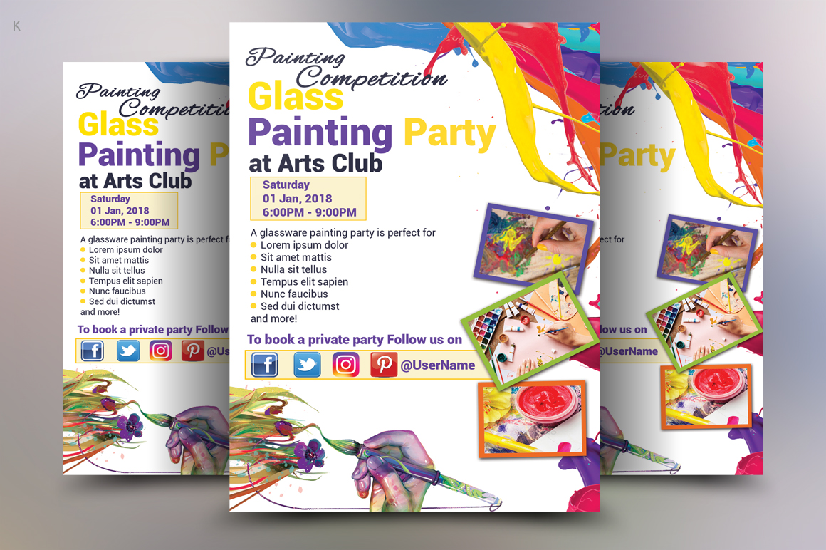 painting Flyer example image 2