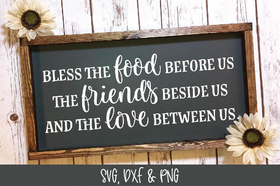 Bless The Food Before Us - Thanksgiving SVG example image 2
