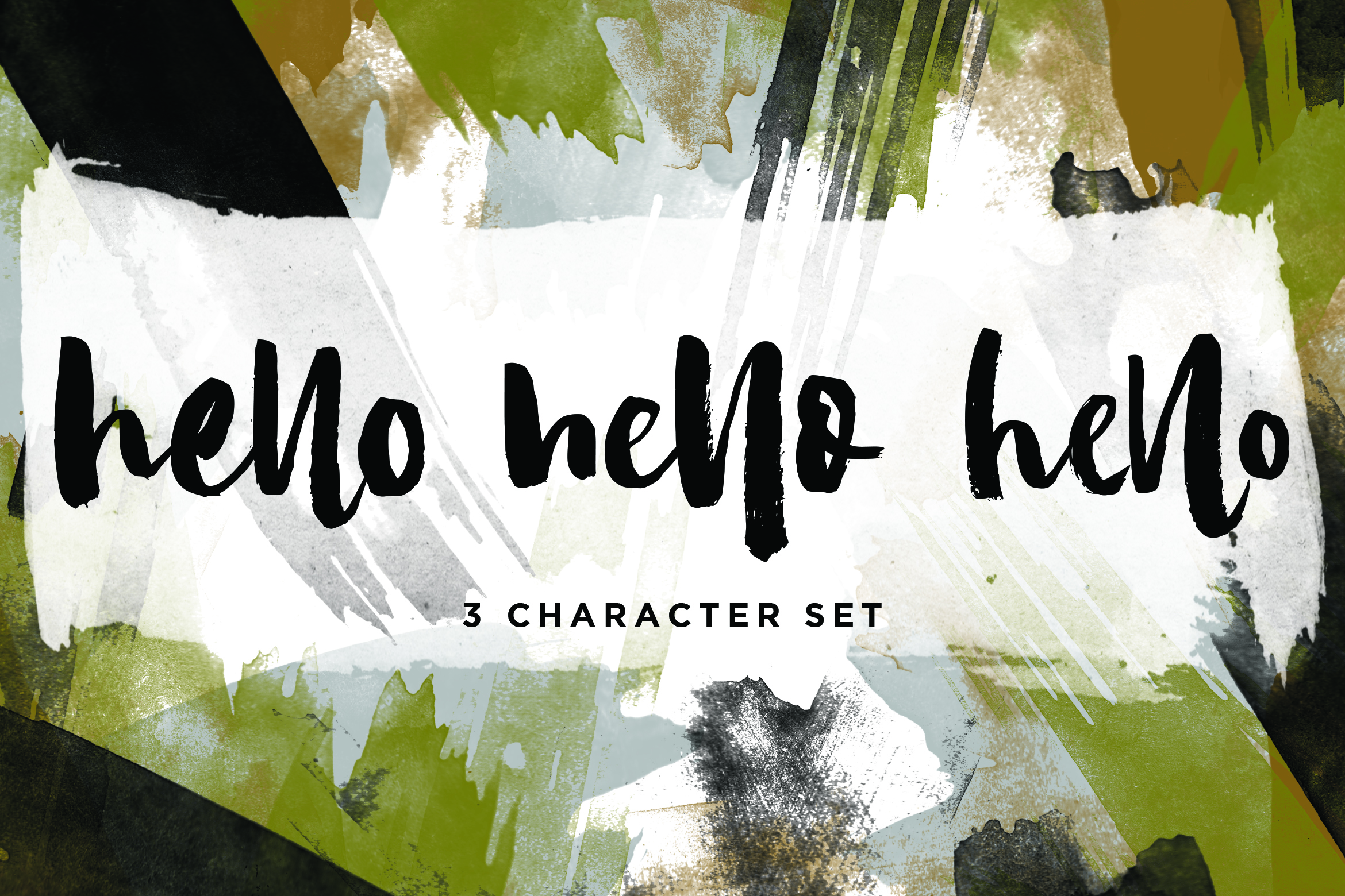 Camilla - Textured Brush Font example image 2