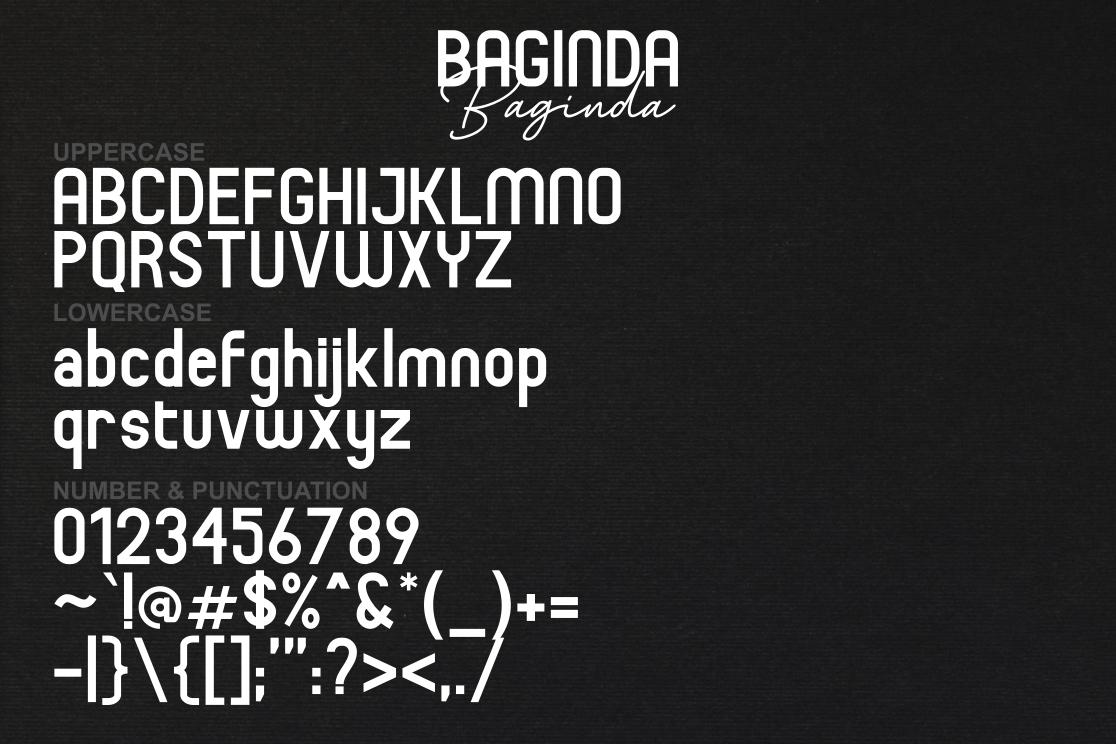 Baginda Font Duo example image 6