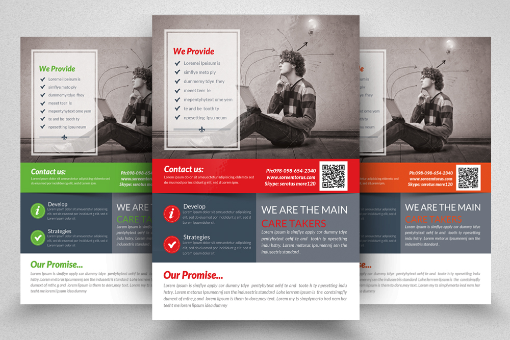 6 Creative Business Flyers Bundle example image 6