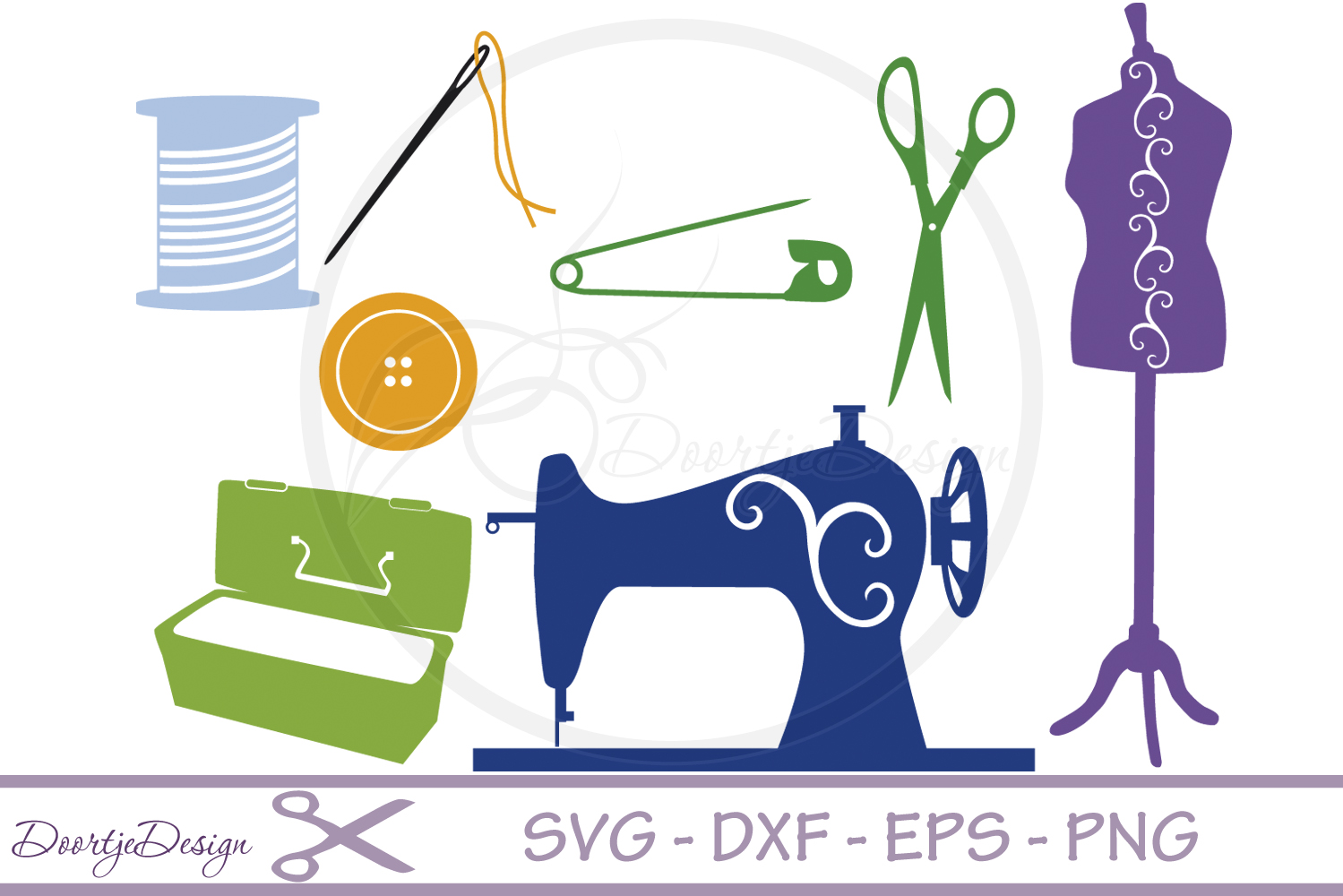 SVG files Sewing Hobby example image 1