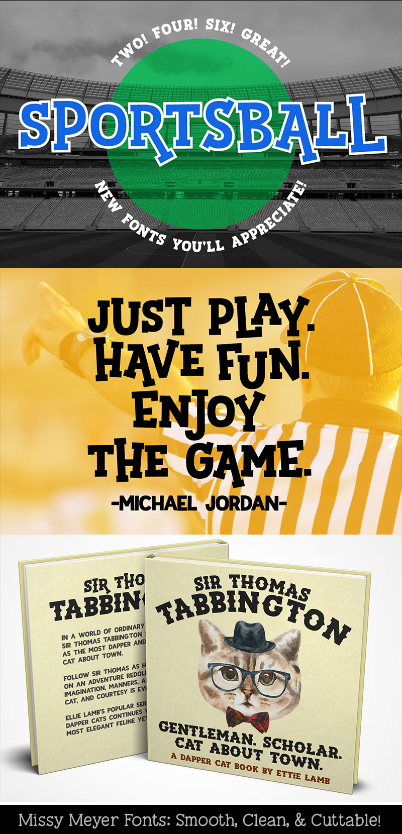 Sportsball - fun font with alternates! example image 8