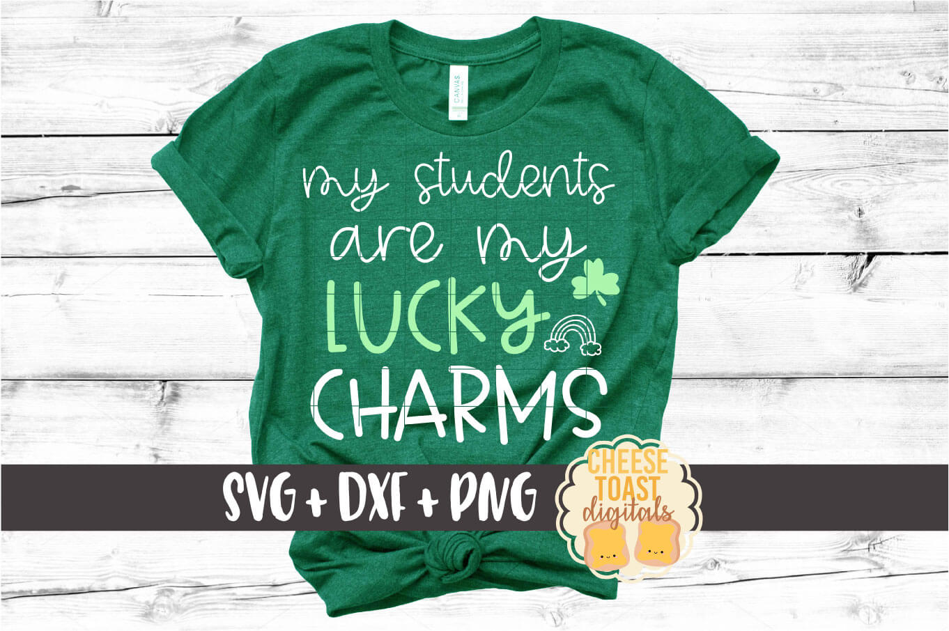 Teacher St Patrick's Day SVG Bundle - School SVG PNG DXF example image 5