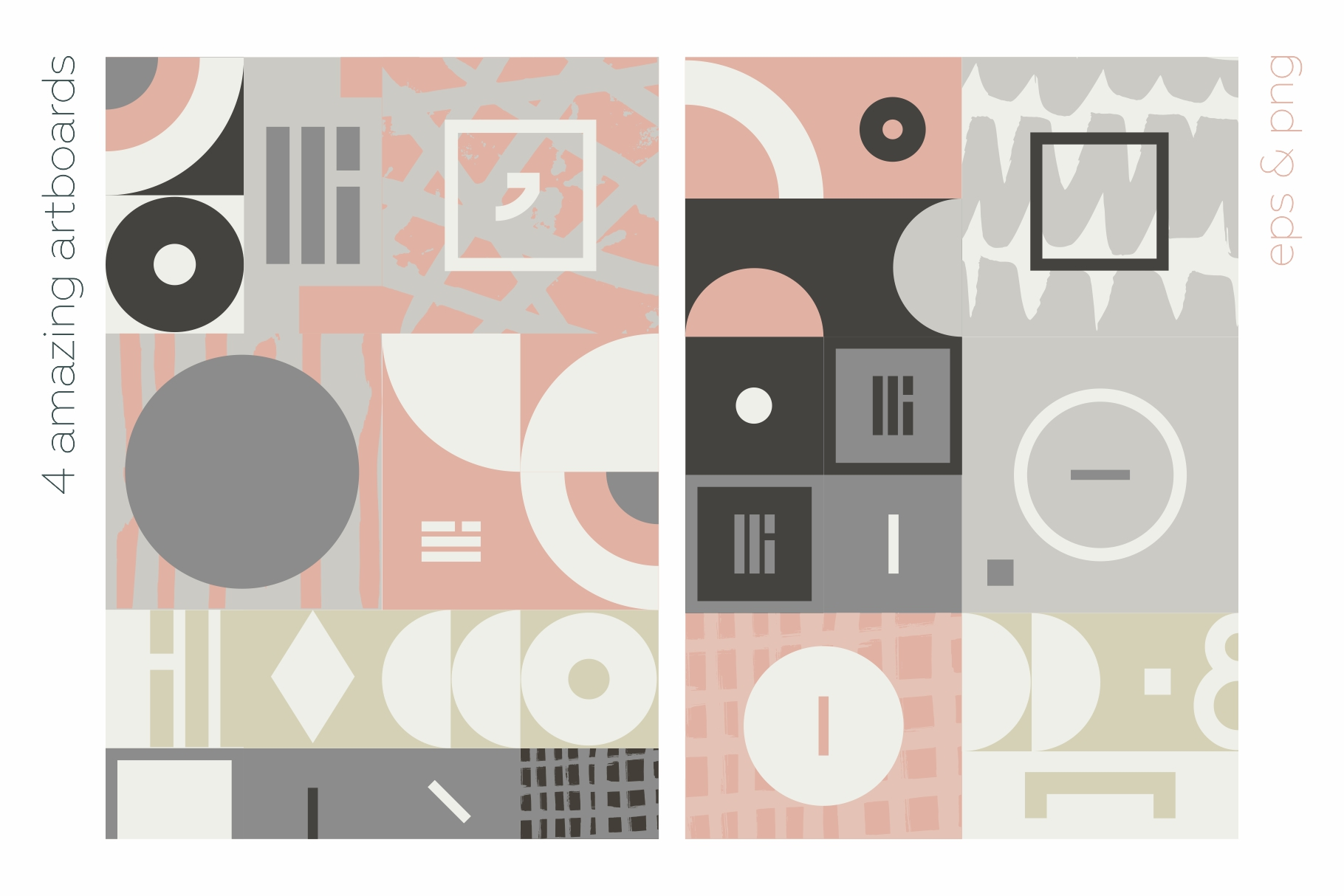 Esthetic Geometric pattern collection example image 11