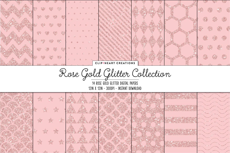 Rose Gold Pattern Custom Inspiration