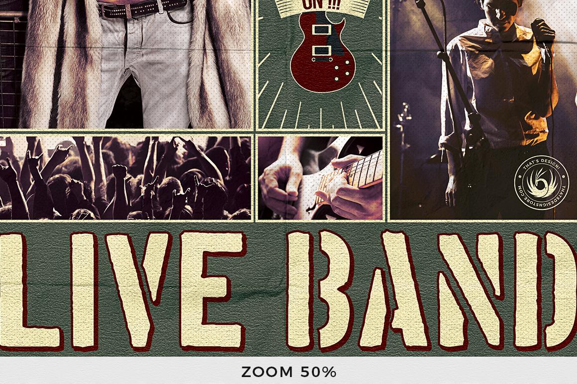 Live Concert Flyer Template V6 example image 7