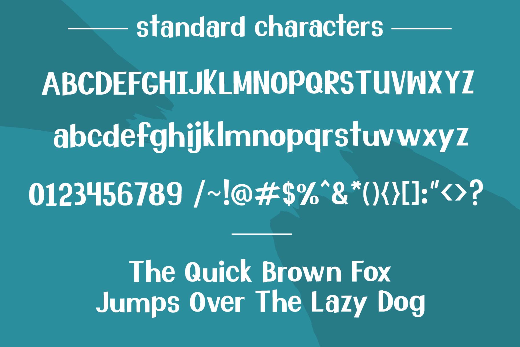 School Teacher Font Duo example image 2