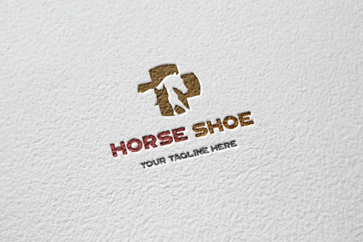 Horse Shape, pets medical care Logo example image 3