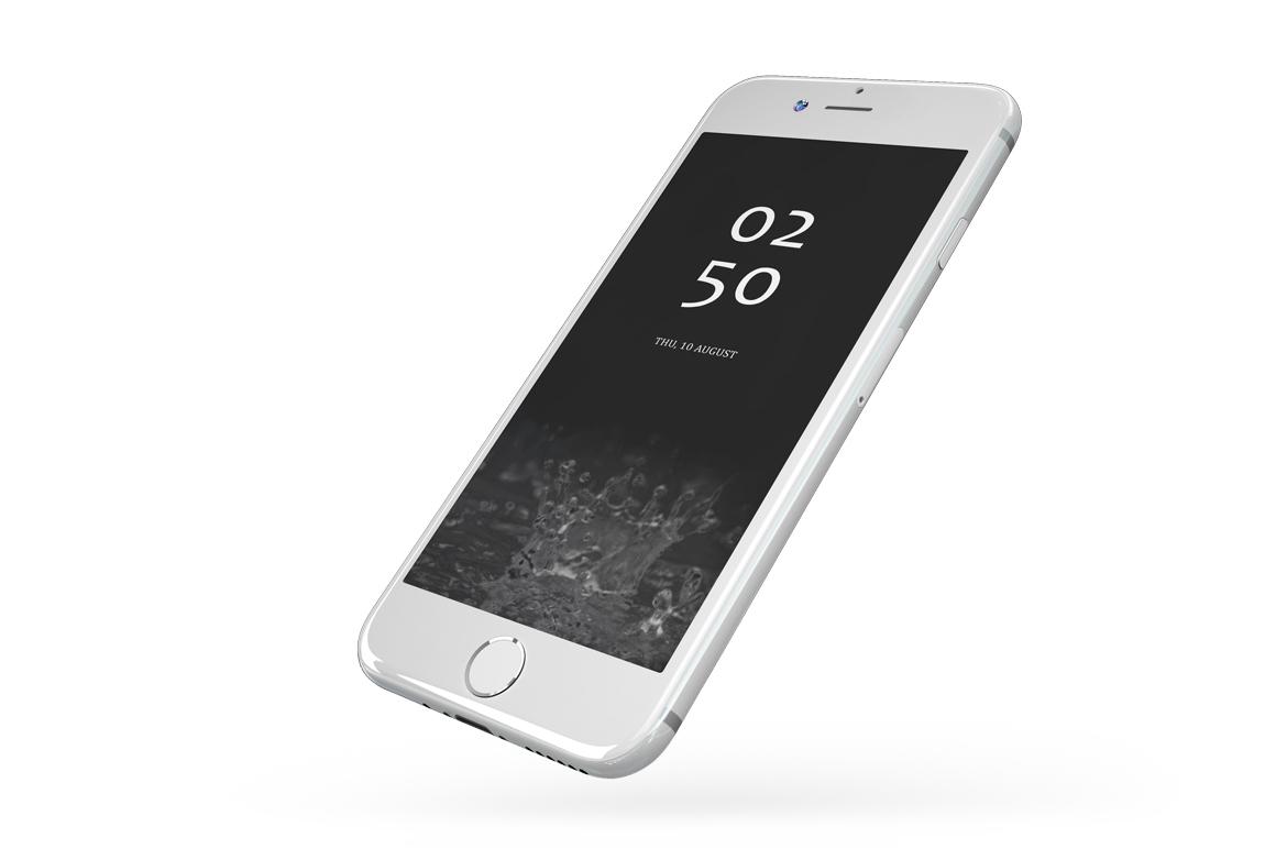 iPhone 7 Jet Black Edition Mockup example image 12