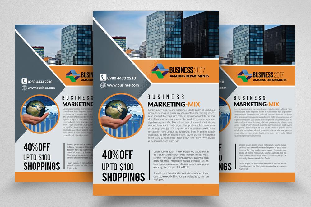 10 Corporate Flyer Templates Bundle example image 2