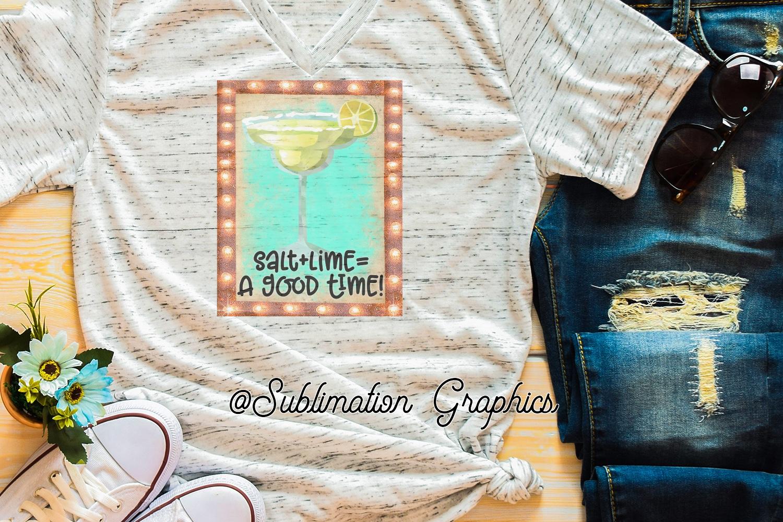 Salt plus Lime Sublimation Digital Download example image 1