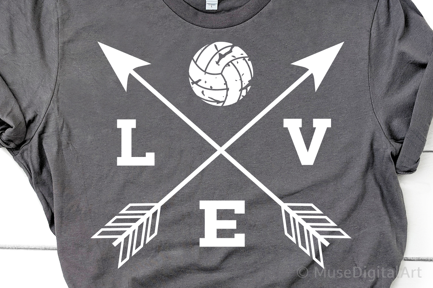 Volleyball Svg, Love Volleyball Svg, Volleyball Mom Svg example image 1