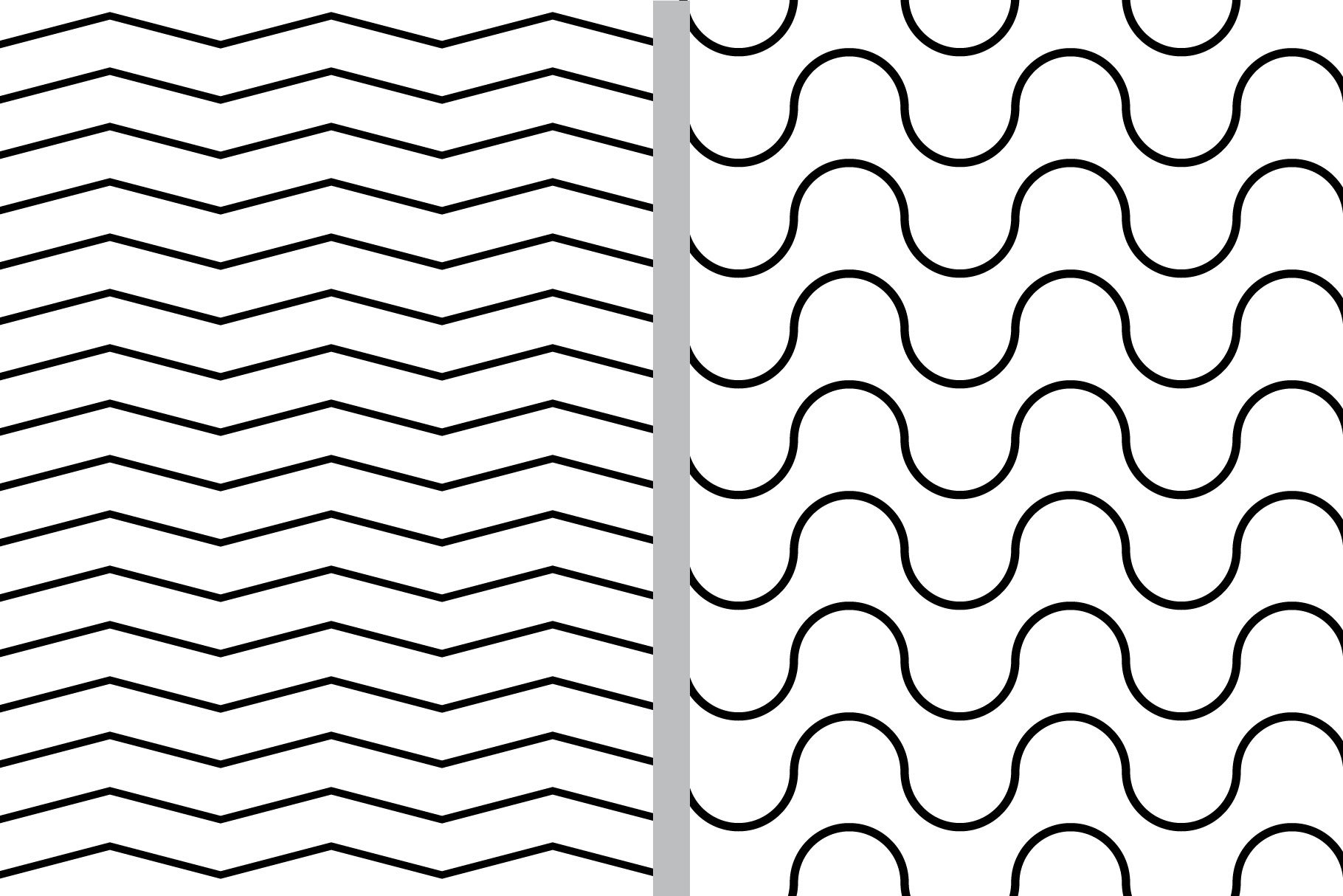 Black and White Seamless Patterns example image 3
