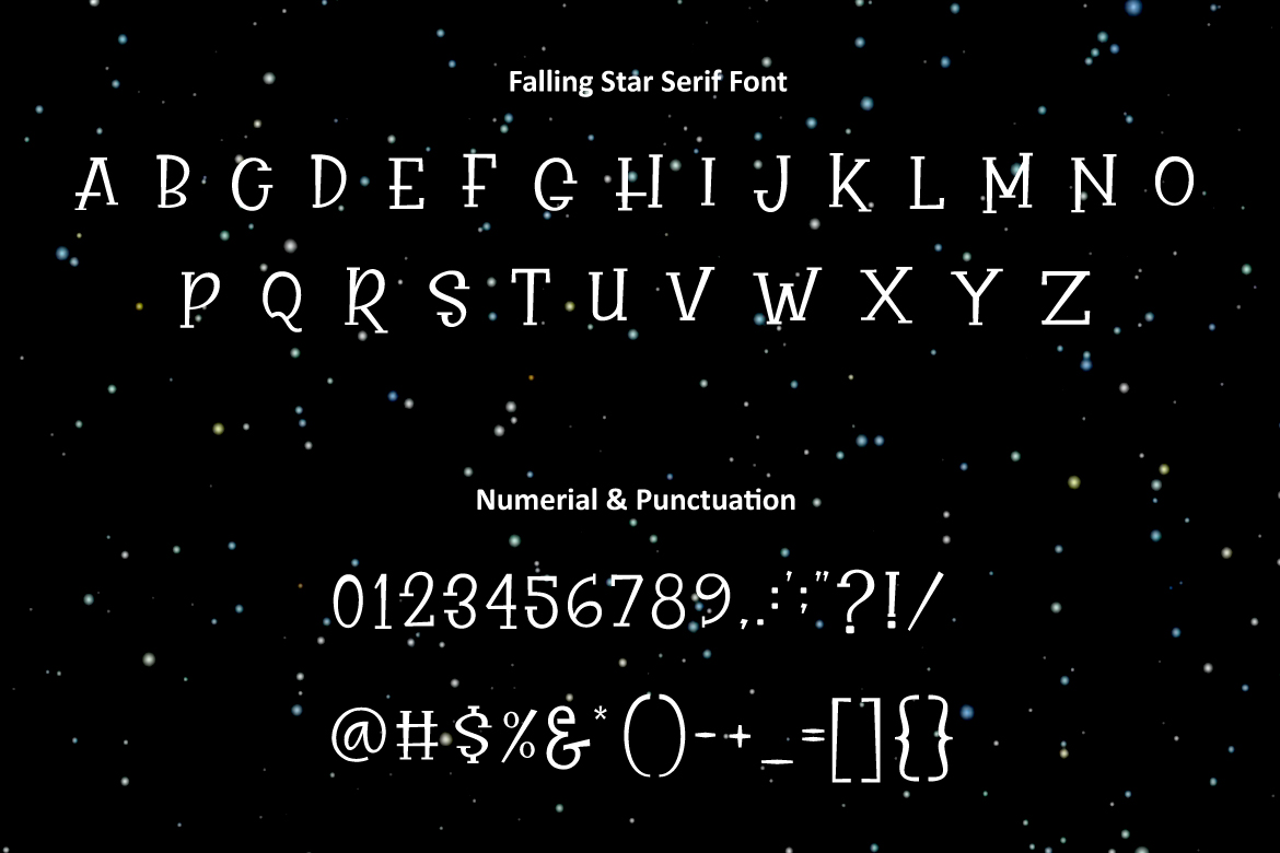 Falling Star example image 3