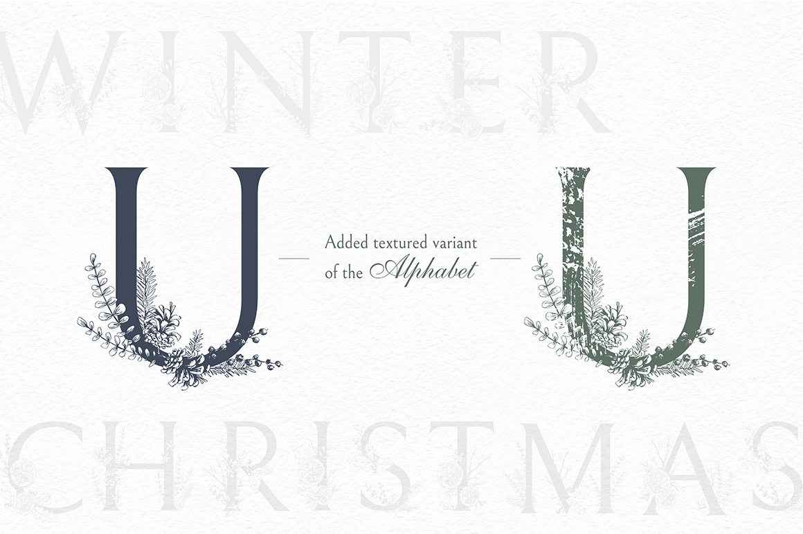 Cozy CHRISTMAS. Watercolor graphic kit. example image 5