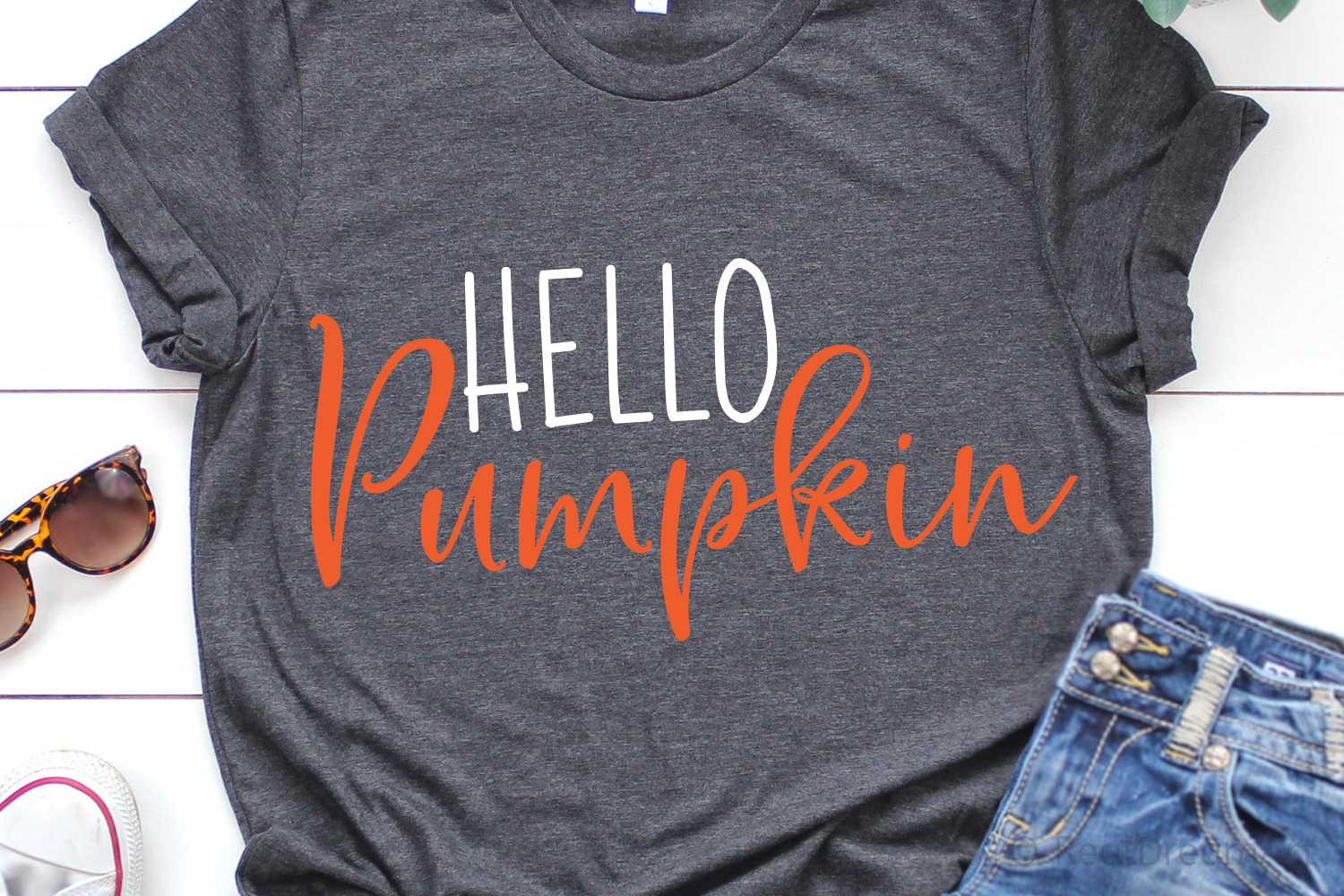 Hello Pumpkin SVG, DXF, PNG, EPS example image 2