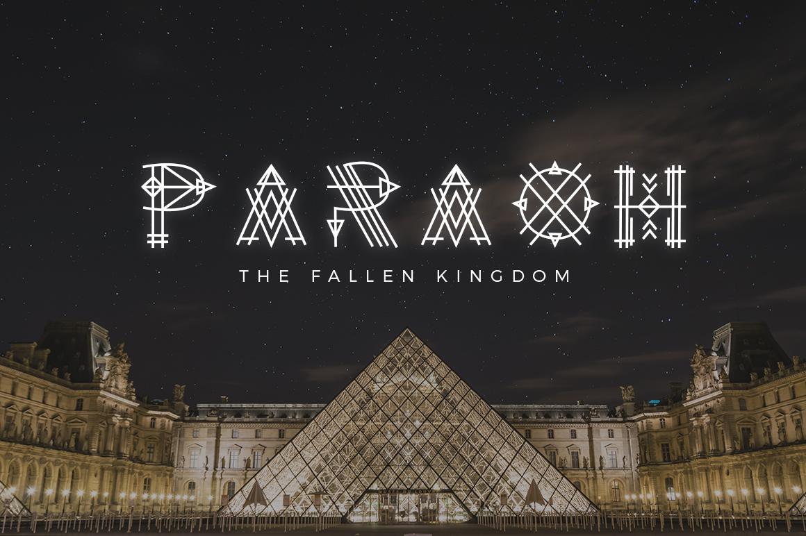 Paraoh - Sacred Font example image 4