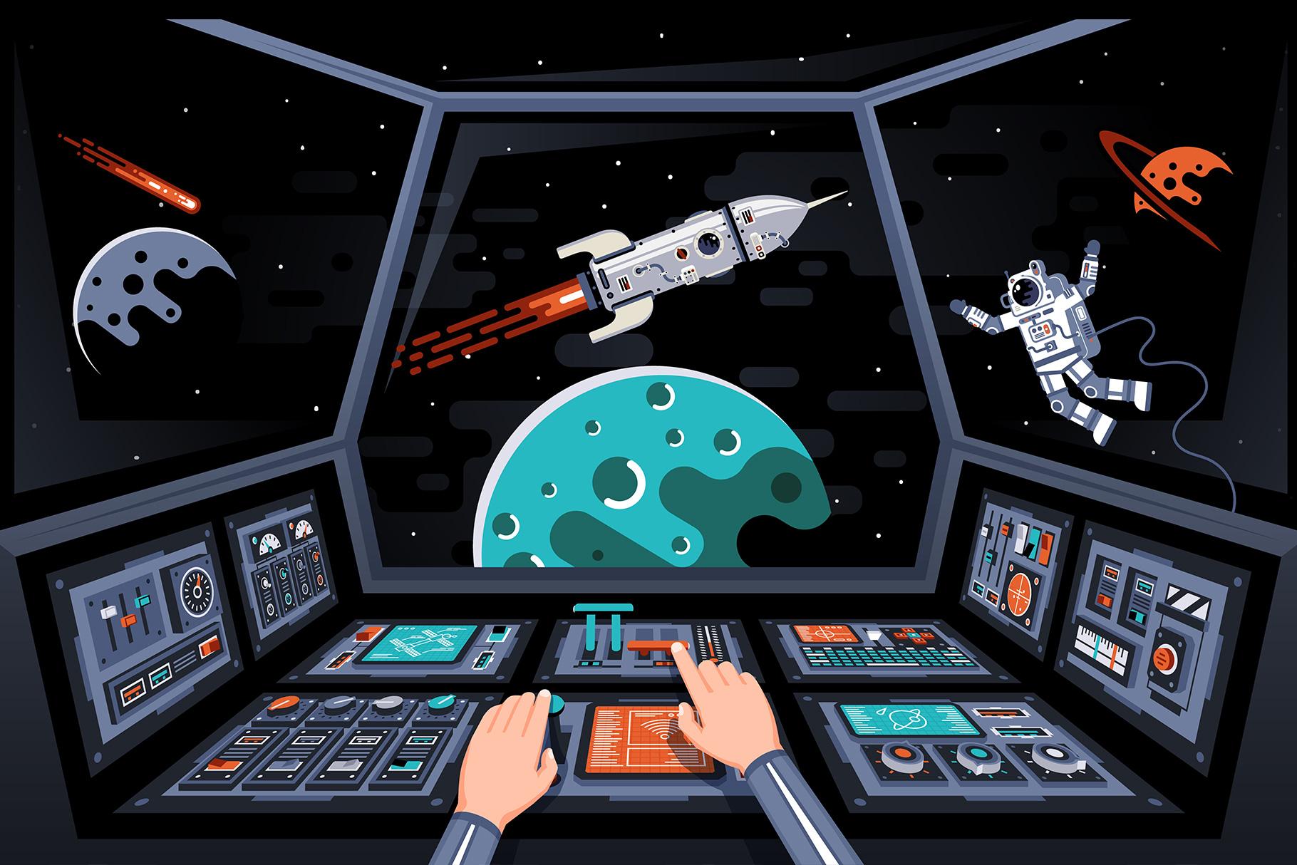Control Panels Spaceship example image 9