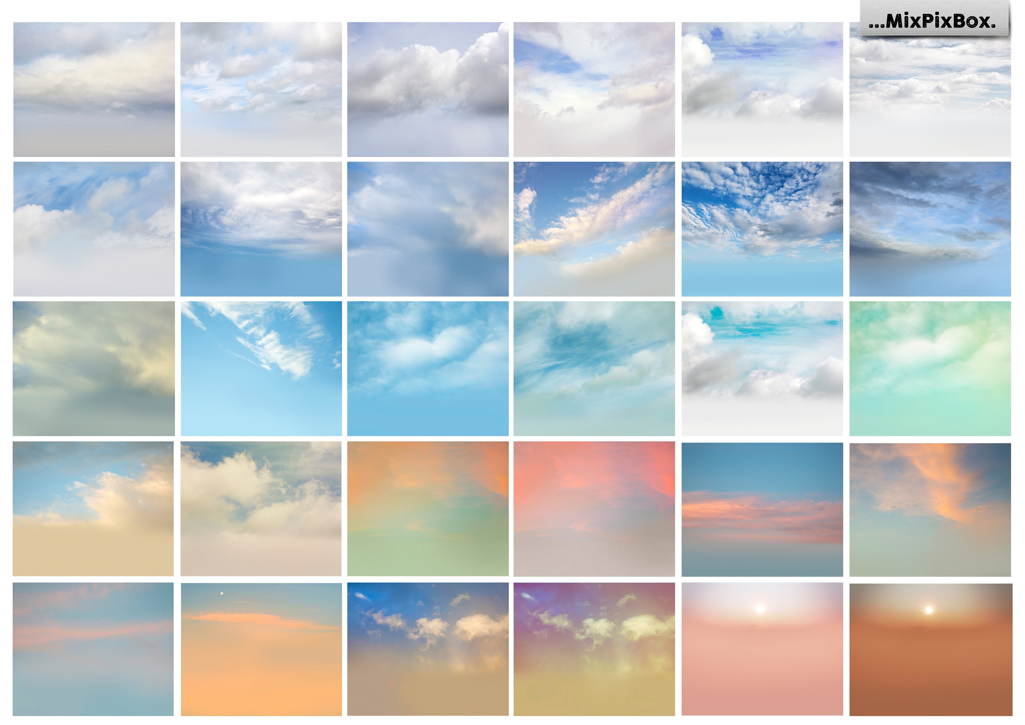 60 Romantic Sky Overlays example image 4